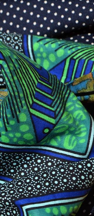écharpe patchwork