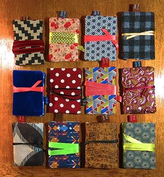 porte-carte textile