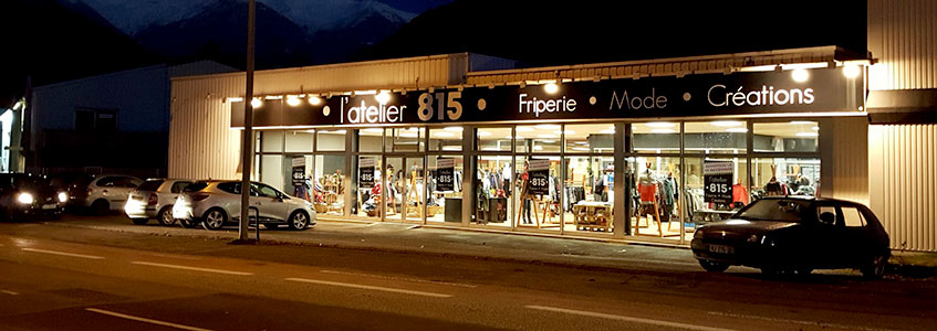 magasin l'atelier 815 albertville